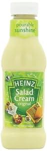 Heinz Salad Cream (Dressing) Original, 14.9-Ounce Squeeze Bottle (Pack of 6)