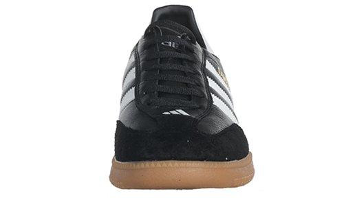 Adidas Men's Samba Millenium Soccer Shoe,Black/Running White/Gold,11.5 M US