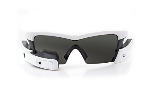 Recon Instruments Jet Smart Eyewear for Sports and Fitness, White