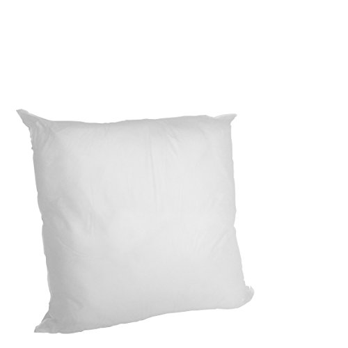 Find Cheap Set of 2 - 16 X 16 Premium Hypoallergenic Stuffer Pillow Insert Sham Square Form Polyeste...