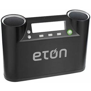 Eton Rukus Portable Bluetooth Wireless Speaker System (Black) - (Nrk100B)