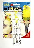 JW Pet Company Insight Activitoy Fork, Knife and Spoon Bird Toy