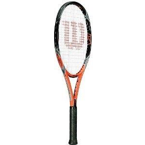 Wilson K Strike Tennis Racket, GripSize- 2: 4 1/4 inch