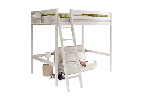 ticaa doppel hochschl fer matthias 140 kiefer wei. Black Bedroom Furniture Sets. Home Design Ideas