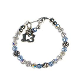 13th Birthday Gift - Thirteen Wishes Birthday Bracelet