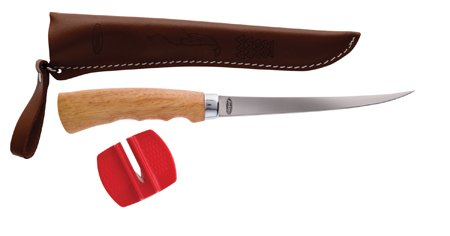 Berkley 6-Inch Wood Handle Fillet Knife, Wood