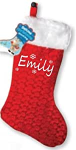 Personalised Christmas Stocking - custom printed with any name