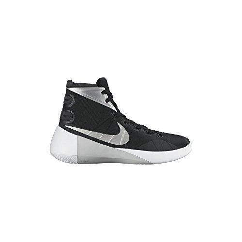 Women's Nike Hyperdunk 2015 Team Basketball Shoe Black/Anthracite/White/Silver Size 8 M US