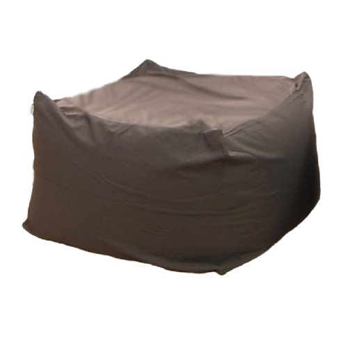 Cushion アースカラーキューブチェア L size Brown PCM-6512T