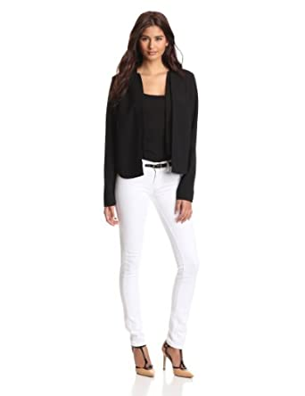 (历史最低)Kenneth Cole Women's Reese Jacket 女士休闲外套$34.84