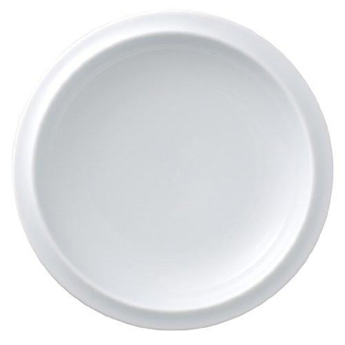 有田焼 匠の蔵 口福(こうふく)なお茶漬け碗シリーズ 小皿 白磁 T7013