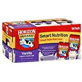 1 CASE Horizon 8oz Vanilla Milk, Organic, 18 per case