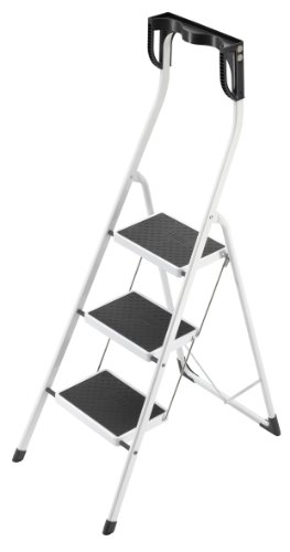 Hailo 4343 001 Safety Plus 330 Pound Capacity Step Stool