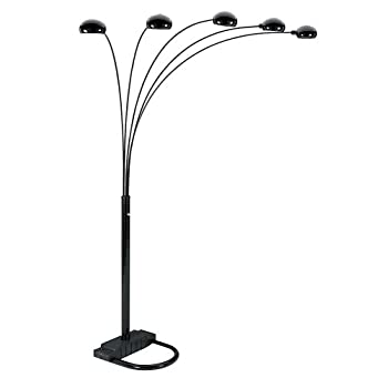 5 Armed Arch Floor Lamp