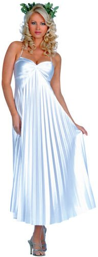 ALL NEW Young Women/Women Pleated Athenian Goddess Gown (No Headpiece)