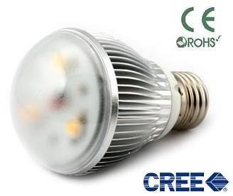 Greenledbulb 3 Watt E26 Led Globe Bulb Light Cree Led, Cool Or Warm White