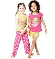 2 Pack Pure Cotton Monkey Pyjamas