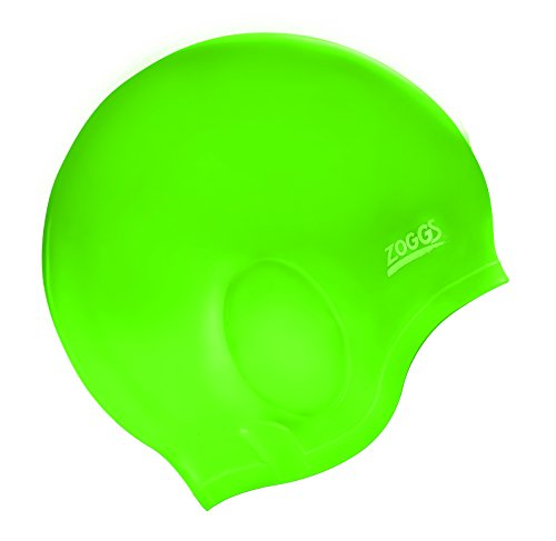 Best Selling On Amazon! Zoggs Ultra-Fit Silicone Cap UV Green (Zoggs Swim Cap compare prices)
