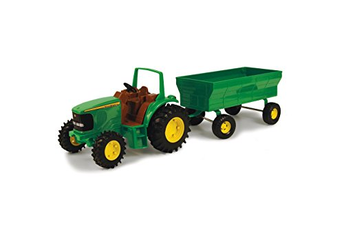"Ertl John Deere 8"" Tractor With Flarebox Wagon Set (Styles May Vary)"