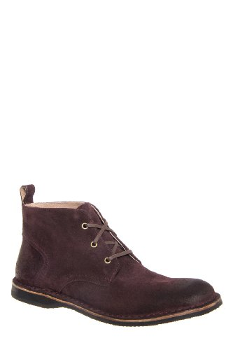 Andrew Marc Men's Dorchester Chukka Boot - Oxblood