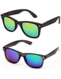 how to measure for sunglasses cdka  Sheomy Mirrored Sunglasses Mercury Green Classic Wayfarer,Mercury blue  Wayfarer Combo Pack Sunglasses For Boys
