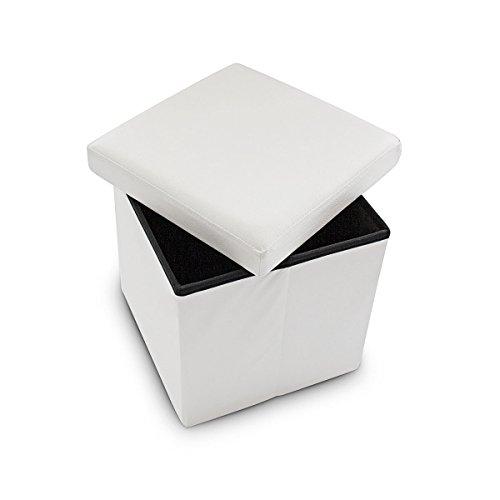 Relaxdays-Faltbarer-Sitzhocker-38-x-38-x-38-cm-stabiler-Sitzcube-mit-praktischer-Fuablage-als-Sitzwrfel-aus-Kunstleder-als-Aufbewahrungsbox-mit-Stauraum-und-Deckel-zum-Abnehmen-fr-Wohnraum-wei