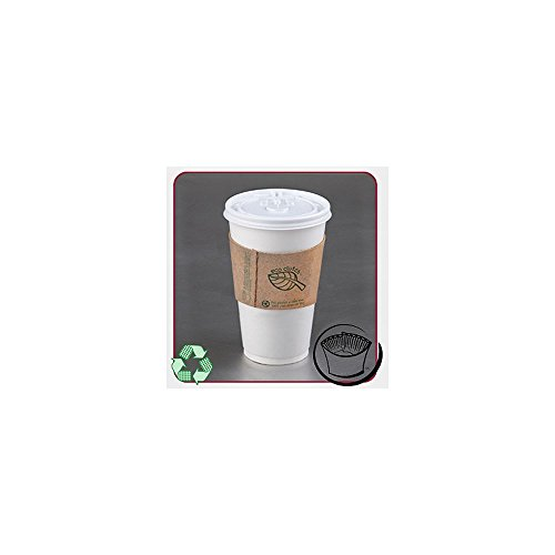 Lbp 63000 Recycled Print Kraft Coffee Cup Sleeve - 1200 / Cs
