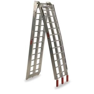 Fly Racing Folding Aluminum Ramp - 88 in. x 11.25 in./Aluminum