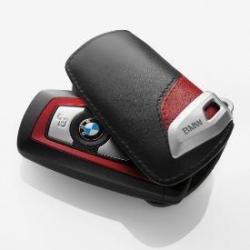 Genuine Bmw Sport Line Key Case - Black Red For 3 Series Sedans 2012 from BMW