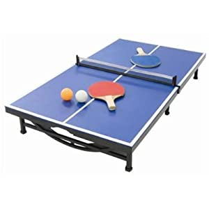 mini ping pong table set toys games. Black Bedroom Furniture Sets. Home Design Ideas