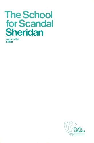 The School for Scandal: Easyread Super Large 24pt Edition