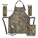 Rock Point True Timber Outdoor Apron with Insulated Beverage Holder, Camoflauge