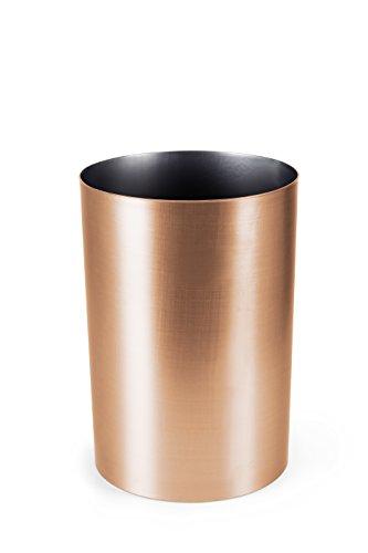 Umbra Metalla 4.5-Gallon Waste Can, Copper (Copper Garbage Can compare prices)
