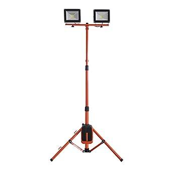 Redback Cordless Portable Outdoor 20Wx2 LED Flood Light