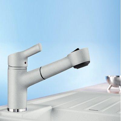 Blanco Elipso-S II Cafe Hochdruckarmatur Braun Einhandmischer Küche Wasserhahn