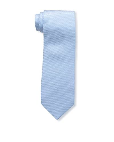 Borrelli Men's Plain Tie, Blue