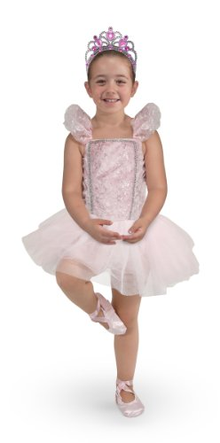Melissa & Doug Ballerina Role Play Costume