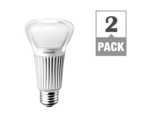 Philips 453340 3 way bulb led light bulb 5w 9w 20w 40w 60w 100w soft white 2 pack 3 way light bulbs