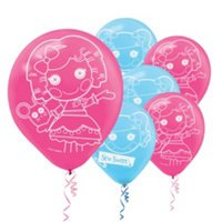 Imagen de Lalaloopsy Latex Balloons Party - 12 pulgadas (6 Pack)