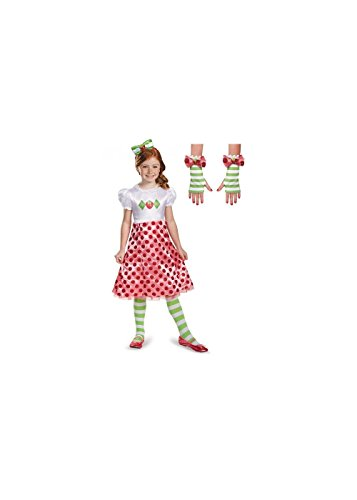 Strawberry Shortcake Full Toddler Girls Costume Set - Toddler 3T-4T