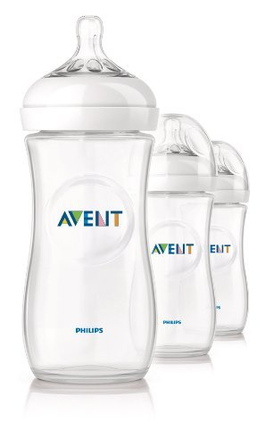 Philips Avent Bpa Free Natural Polypropylene Bottle, 11 Ounce, 3-Count Style: 3 Pack Size: 11 Ounce Newborn, Kid, Child, Childern, Infant, Baby