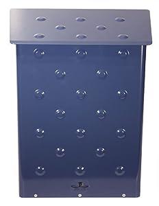 Jenny Lane Design Blue Polkadot Wall Mount Mailbox