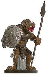 D & D Minis: Gnoll Marauder # 31 - Dungeons of Dread - 1