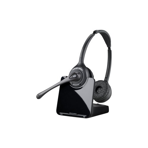 Plantronics Cs510-Xd Headset Mono - Wireless - 350 Ft - Over-The-Head - Monaural - Supra-Aural - Noise Cancelling Microphone / 88285-01 /