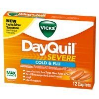 Vicks DayQuil Severe Cold & Flu Relief Caplets (Case of 24)