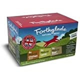Forthglade Natural Menu Multicase, 395 g, Pack of 12