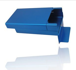 シガレットケース / cigarette cases and cigarette cases aluminum case / 20 P blue