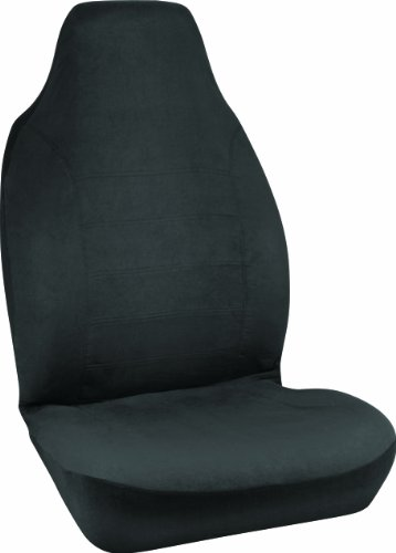 Bell 22-1-56225-8 Black Micro Suede Universal Bucket Seat Cover front-164011