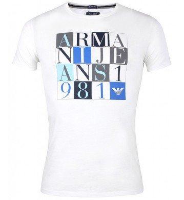 Da uomo Armani Jeans maglietta | V6H22 Extra Slim | Bianco | * del*  |