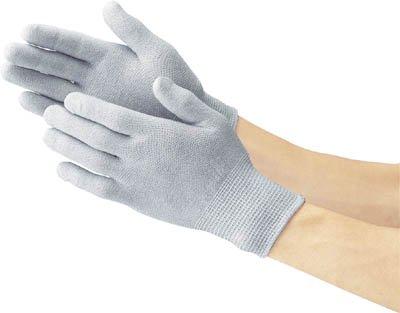 TRUSCO 静電気対策用手袋L(ノンコート)